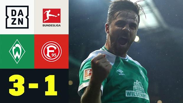 Bundesliga: SV Werder Bremen - Fortuna Düsseldorf | DAZN Highlights