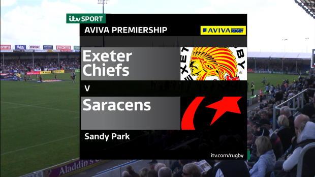 Aviva Premiership - Exeter Chiefs v Saracens