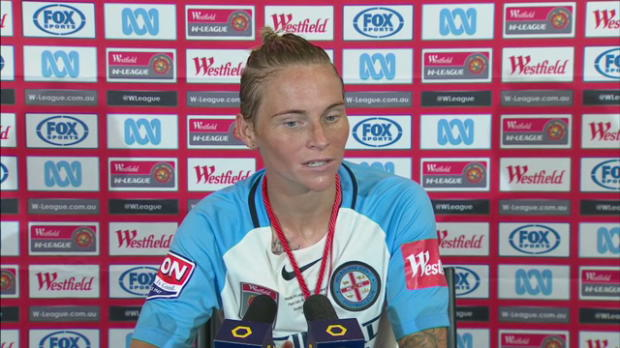 Melbourne City W-League GF press conference