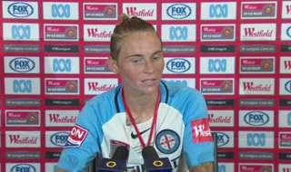 Melbourne City player/coach Jess Fishlock paid tribute to the club's professionalism following their Grand Final triumph over Perth Glory.