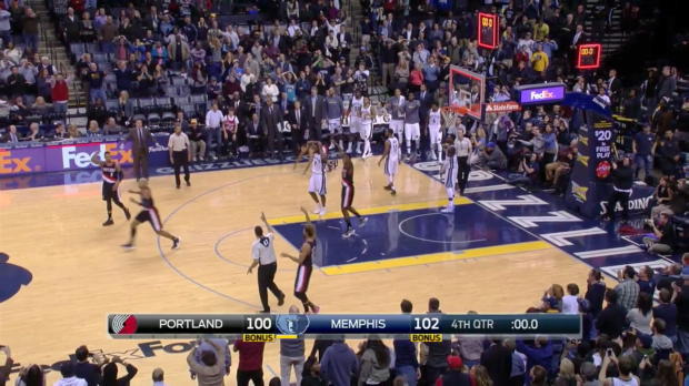 WSC: Memphis scores in own basket