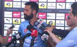Sydney FC Captain Alex Brosque is hoping for of déjà vu in Saturday's #SydneyDerby at Allianz Stadium as he called for a repeat of the Sky Blues round one performance against the Wanderers.