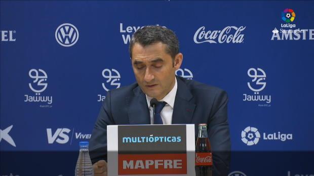 """Valverde: """"Fünf Gegentore nicht normal"""""""