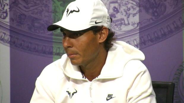 """Wimbledon: Nadal: """"Einfach froh, fit zu sein"""""""
