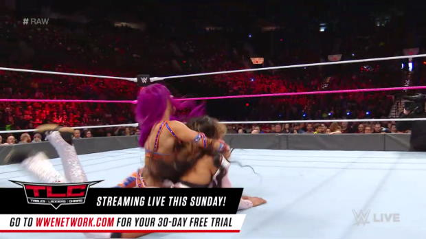 Sasha Banks vs. Alicia Fox: Raw, Oct. 16, 2017