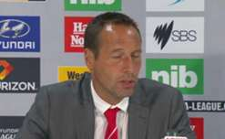 Heart coach John van't Schip is disappointed with the way his side played in loss to Jets but believes their season is far from over.