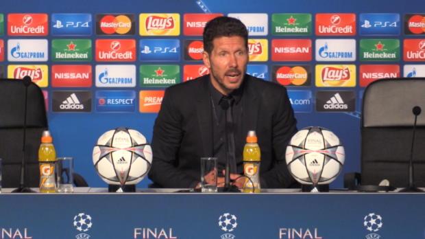 "Simeone: ""Real Madrid war besser"""