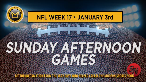 NFL Week 17 Sunday Afternoon