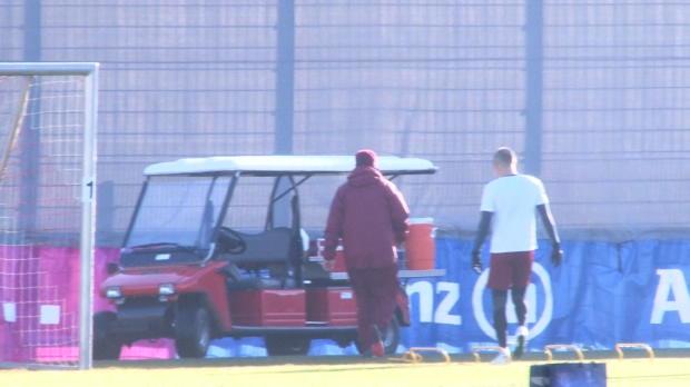 Robben sorgt für Schock-Moment im FCB-Training