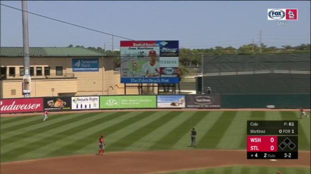 J. Martinez's solo home run
