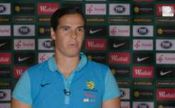 Matildas goalkeeper Lydia Williams says Australia's win over the USA is a 'huge' achievement in the context of their development.