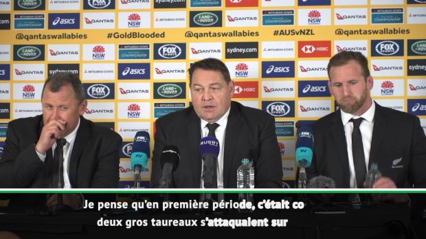 """Rugby : Four Nations - Hansen - """"Deux gros taureaux sur le ring"""""""