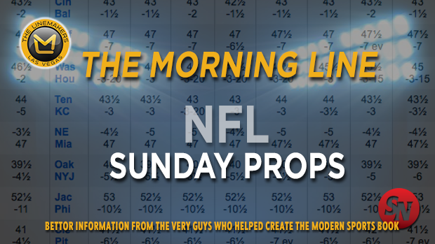 Morning Line NFL Sunday Props