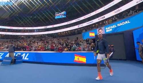 Lorenzi v Nadal Highlights: ATP Beijing 1R