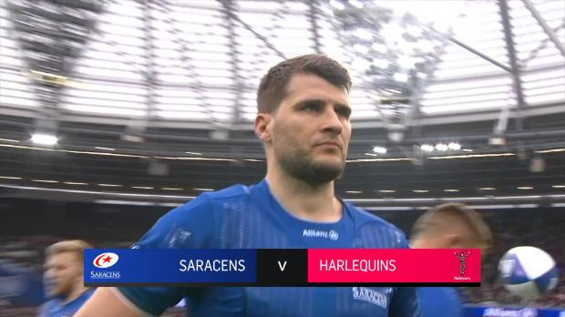Aviva Premiership : Aviva Premiership - Match Highlights - Saracens v Harlequins