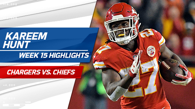 Kareem Hunt highlights | Week 15