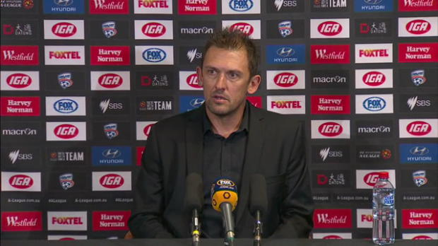 Western Sydney Wanderers Rd 27 press conference