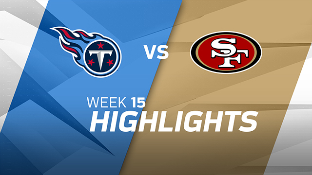 Titans vs. 49ers highlights | Week 15