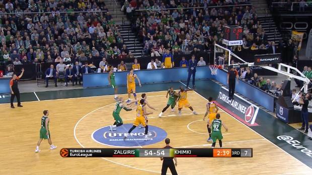 Basket : Euroligue (22e j.) - Toupane et Kaunas renversés par le Khimki Moscou