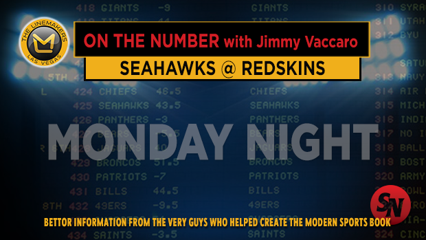 Jimmy V on Seahawks @ Redskins