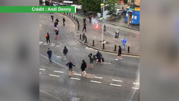 Ligue Europa - Violentes bagarres entre supporters des Rangers et d'Osijek