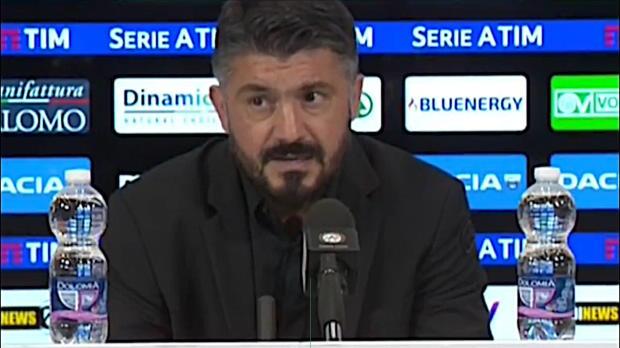 Gattuso zufrieden: Schwer, in Udine zu spielen