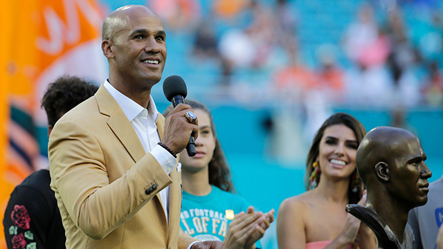 Jason Taylor: I never re-watched my H.O.F. speech after delivering it