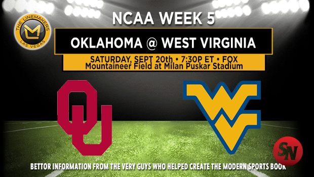 Oklahoma Sooners @ West Virginia Mountaineers