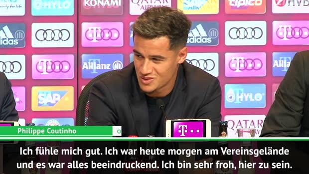 Coutinhos erste Worte als neuer Bayern-Star