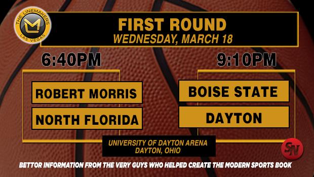 Wednesday NCAA Tournament First Round
