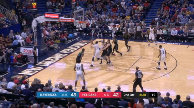 GAME RECAP: Pelicans 115, Mavericks 105