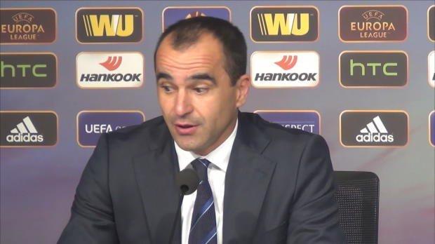 Foot : L.Europa - Groupe H, Everton, Martinez évoque la passion Everton