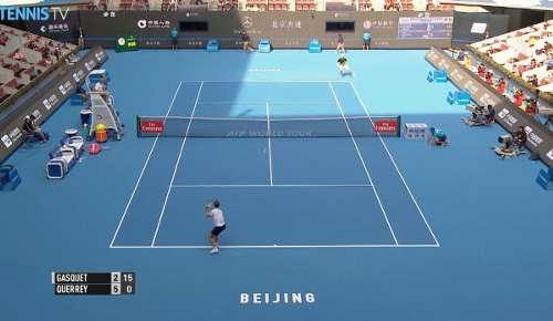 Querrey Hot Shot - ATP Beijing R1