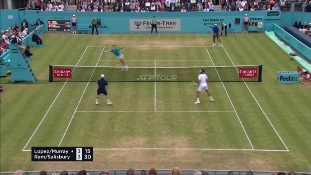 Basket : Queen's - Retour gagnant en double pour Murray