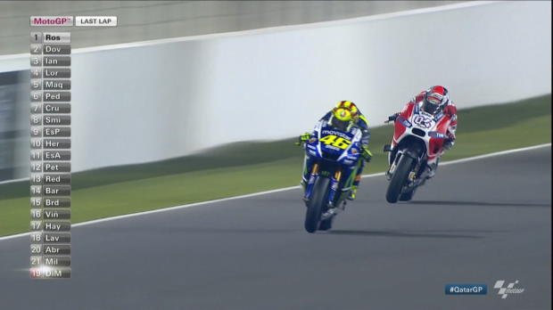 MotoGP: Rossi krönt seine Aufholjagd