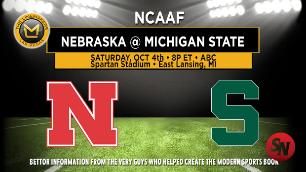 Nebraska Cornhuskers @ Michigan State Spartans