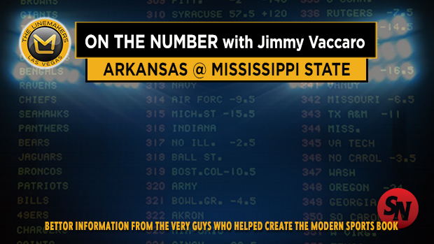 Jimmy V on Arkansas @ Mississippi St