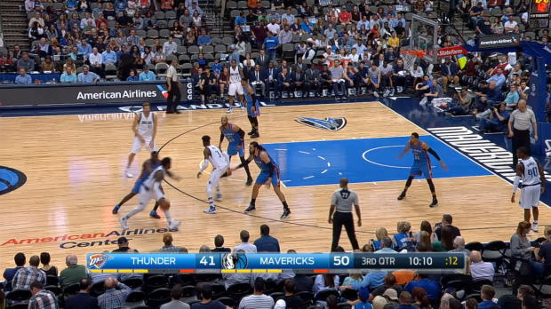 GAME RECAP: Thunder 92, Mavericks 91