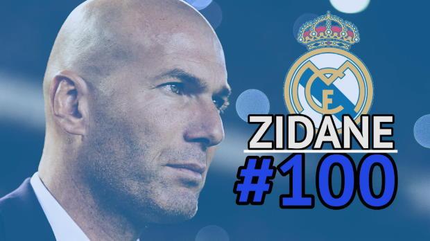 100 Spiele Zidane: Reals Legende mit Jubiläum