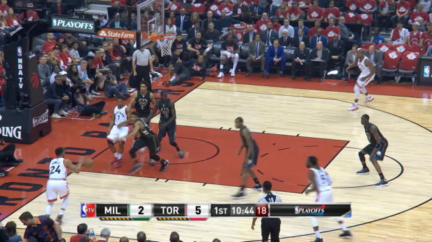 GAME RECAP: Raptors 118, Bucks 93