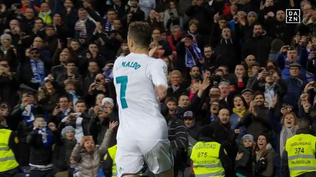 Ronaldo zu Juve! So schön traf CR7 für Real