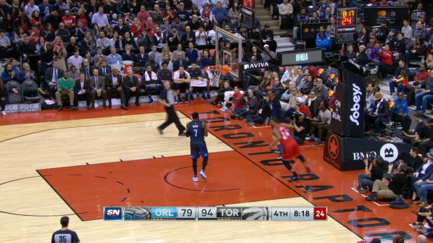 Steal Of The Night: Norman Powell