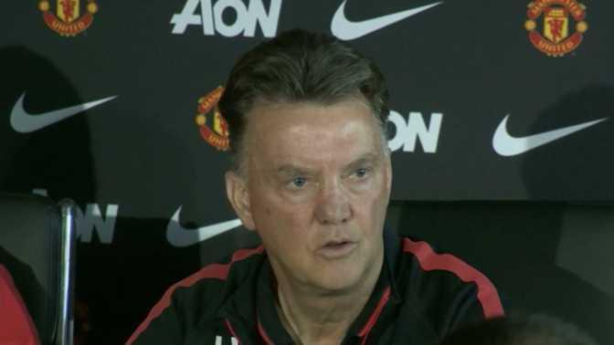 """Van Gaal : """"Je suis le diable de Manchester"""""""