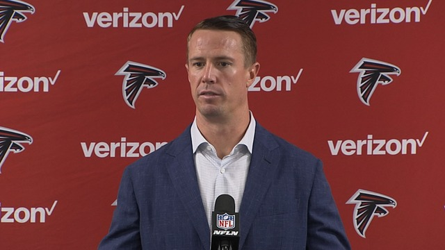 Falcons postgame press conference