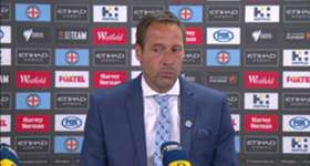 John van't Schip was disappointed his side missed a chance to close the points gap to Sydney FC on Friday night.