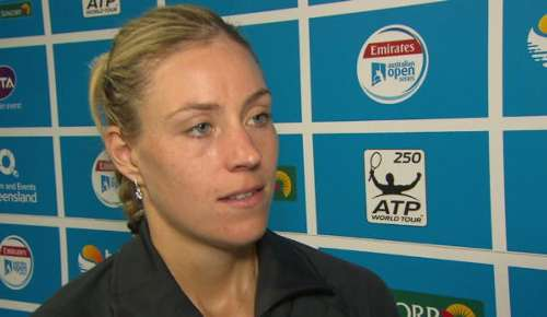 Kerber Interview: WTA Brisbane Final