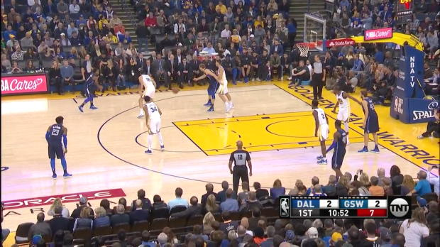 WSC: Dirk Nowitzki (18 points) Highlights vs. Golden State Warriors