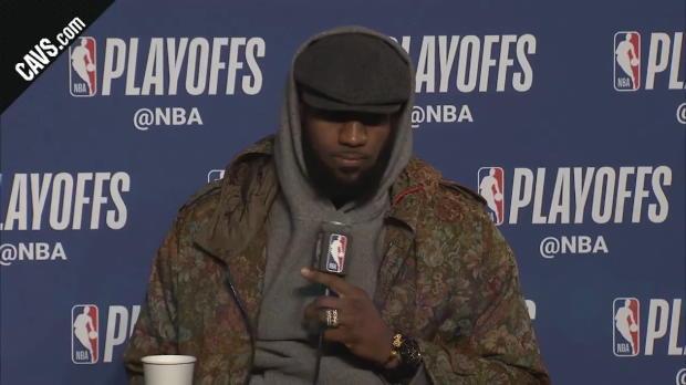 """Basket : Playoffs - James - """"Je suis bien rentré dans le match"""""""