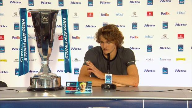 ATP-Finals: Zverev: Alte Garde immer noch besser