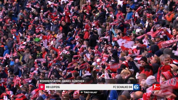Bundesliga: RB Leipzig - FC Schalke 04   DAZN Highlights